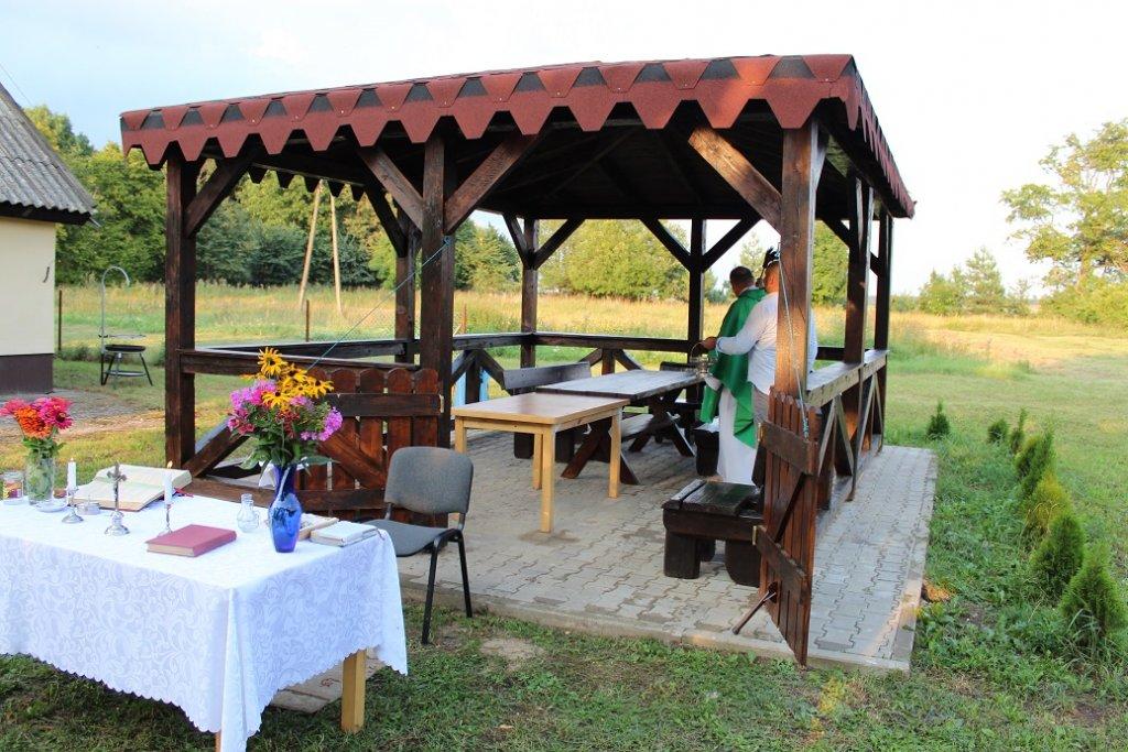 Rapaty: Otwarcie wiaty i świetlicy wiejskiej