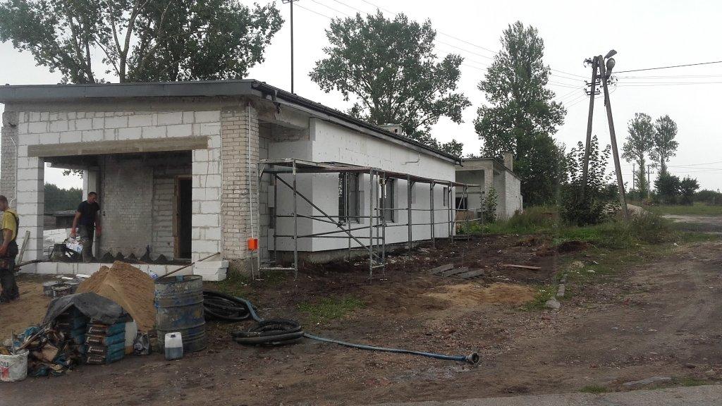 'Senior+' w Szczuplinach - trwają prace budowlane