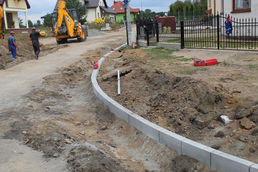 Trwa modernizacja ulicy Strumykowej