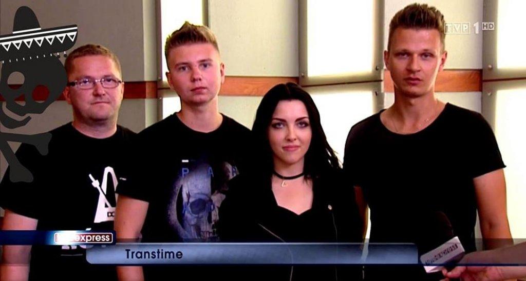 Transtime i ich utwór 'W Rękach Młodych' w Teleexpresie