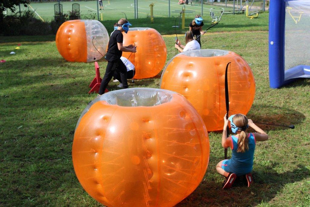 Hartowiec: Dzień integracyjny w szkole na rozpoczęcie roku
