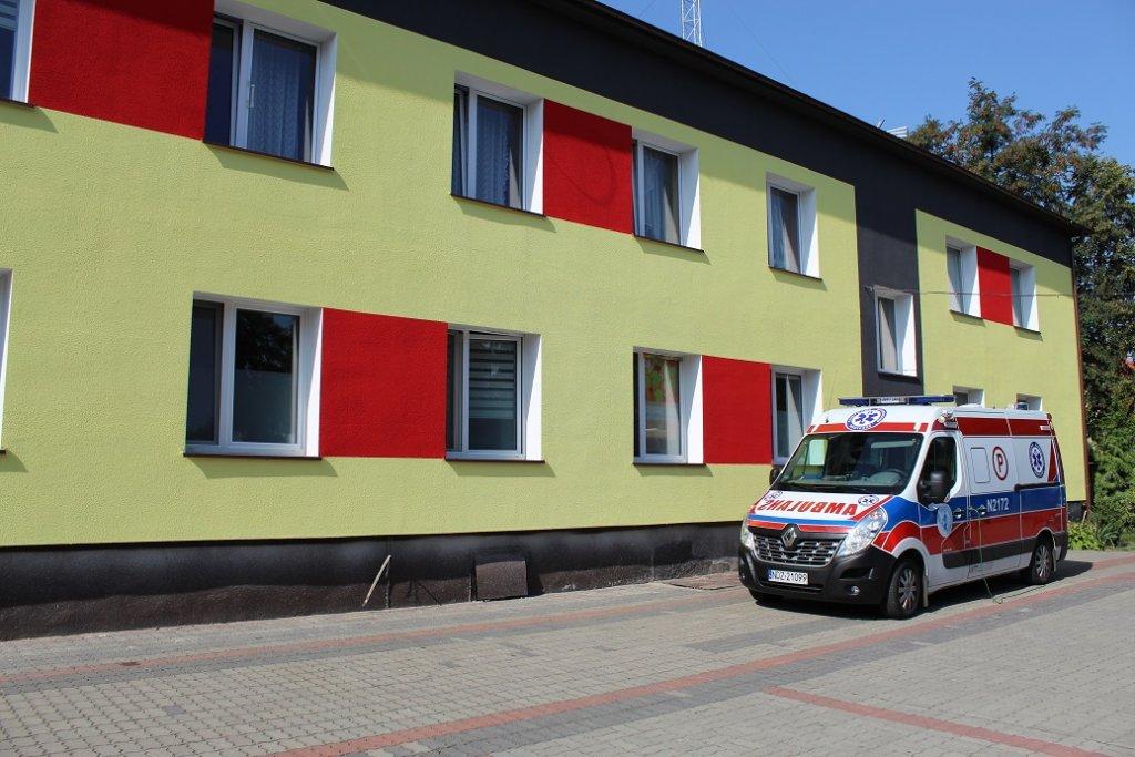 Trwa modernizacja Ośrodka Zdrowia