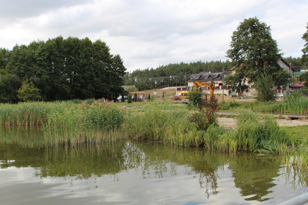 Ruszyła budowa plaży w Rybnie