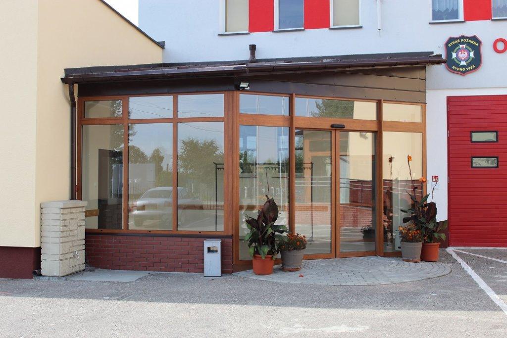 Trwa modernizacja budynku Urzędu, OSP i Przedszkola