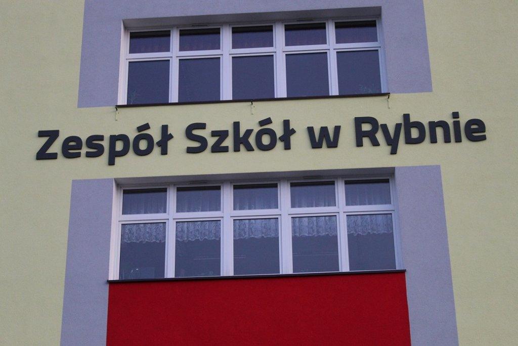 Rybno: Trwa modernizacja Zespołu Szkół