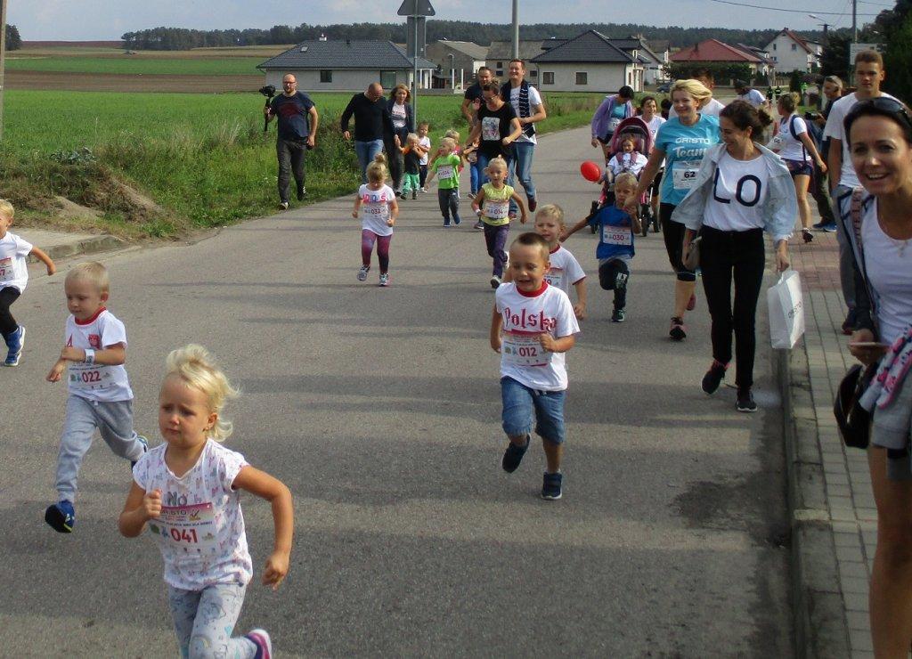 Grodziczno: Pobiegliśmy dla Lenki