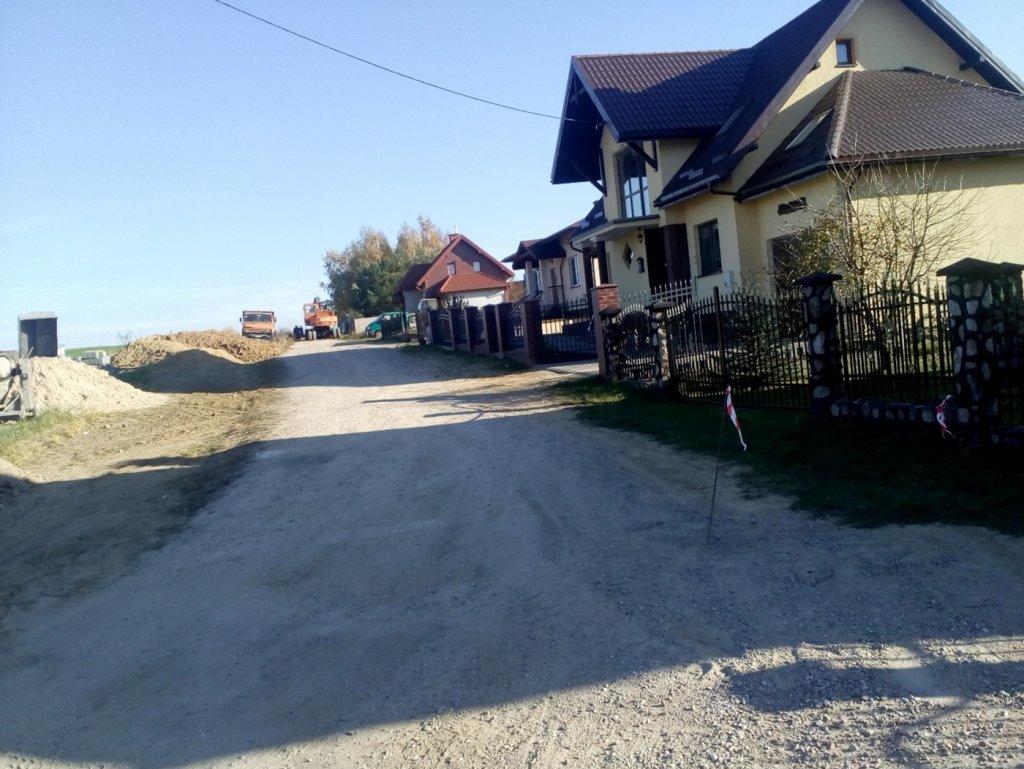 Przebudowa ul. Lubawskiej w Rybnie