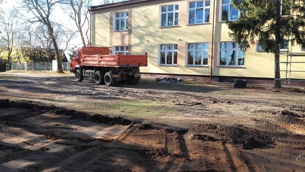 Budowa sali sportowej przy SP Koszelewy