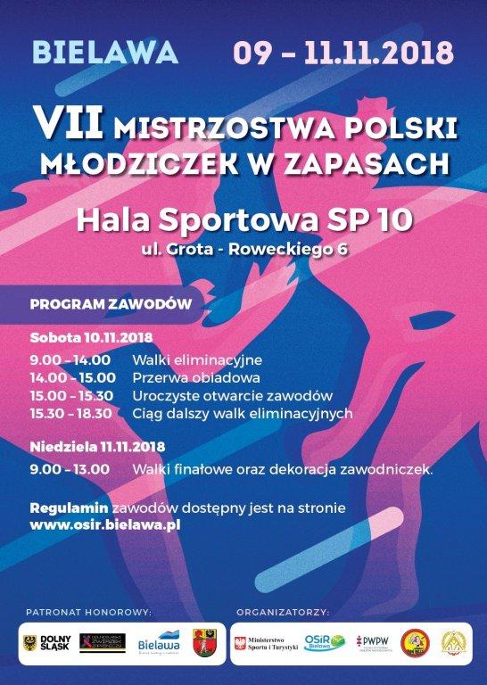 Młode zapaśniczki pojechały na Mistrzostwa Polski