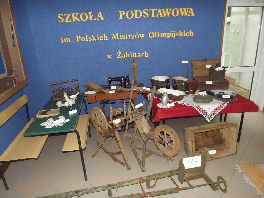 Wystawa 'Z kart historii mieszkańców Żabin'