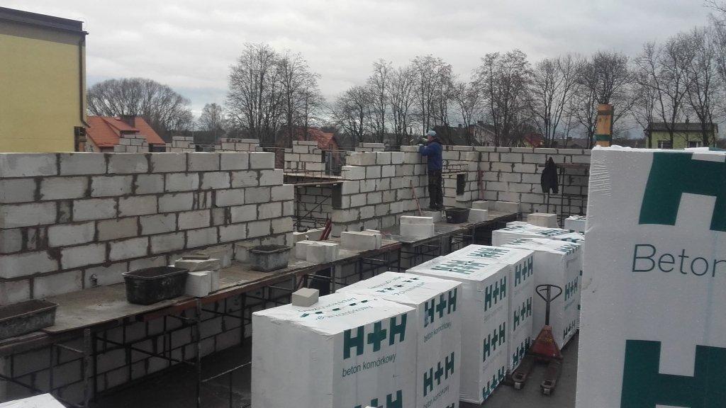 Koszelewy: Trwa budowa sali sportowej