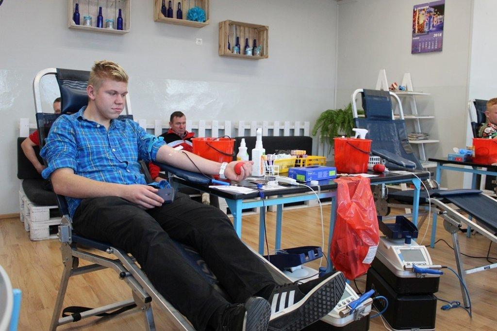 Oddali ponad 13 litrów krwi