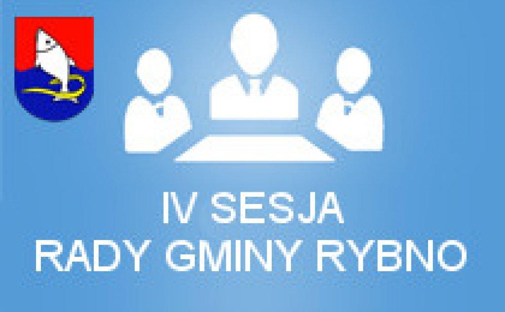 IV sesja Rady Gminy Rybno