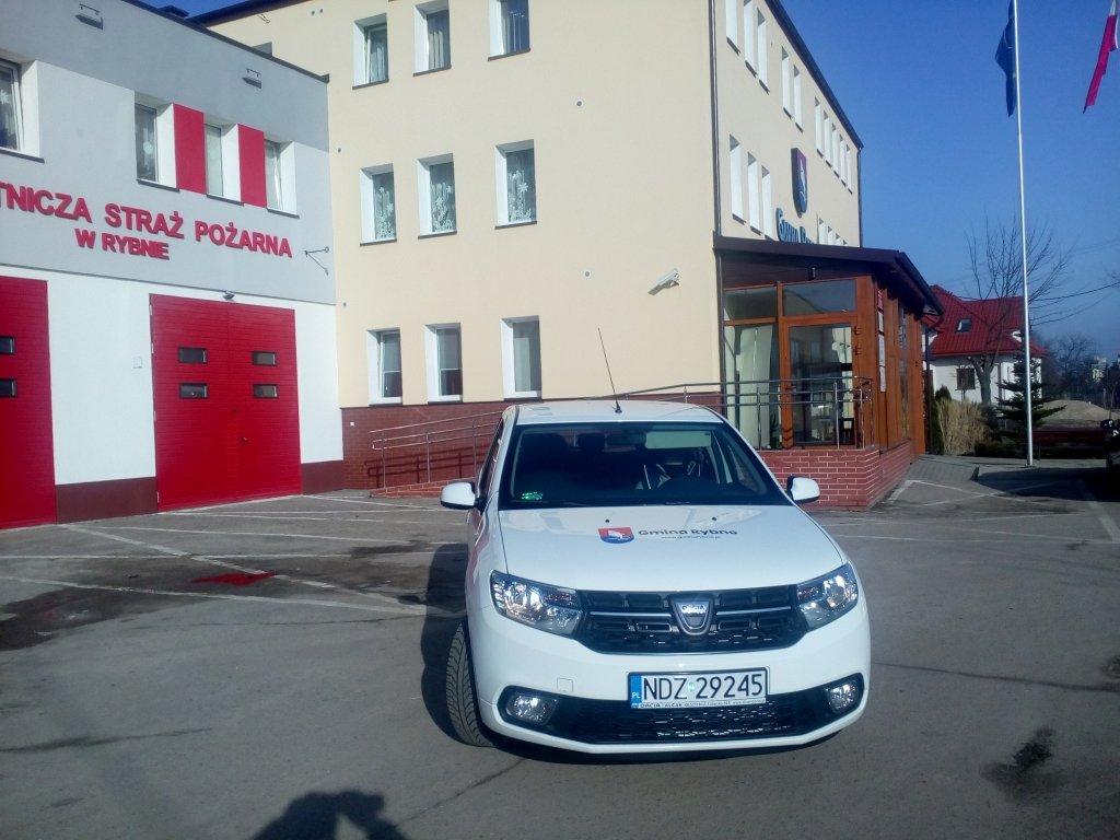 Gmina Rybno zakupiła samochód