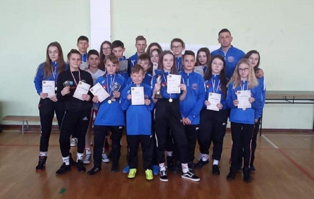 Rumian: II Rzut Wojewódzkiej Ligi Międzyszkolnej w Zapasach