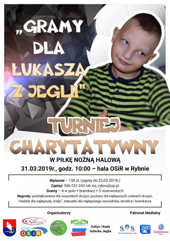 Turniej charytatywny dla Łukasza
